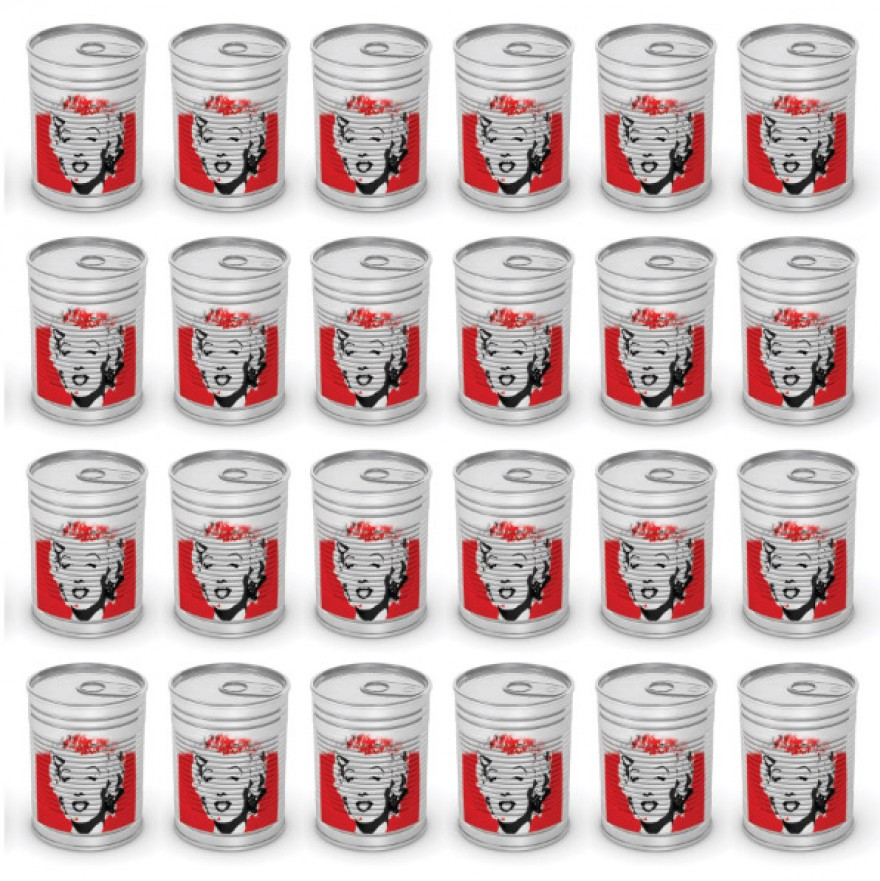 Marilyn Monroe Cans